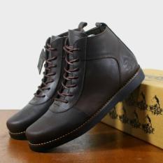 Tips Beli Sepatu Kulit Asli Boots Casual Pria Wolf Golden Brown Yang Bagus