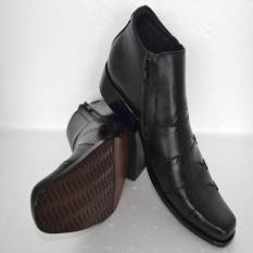 Sepatu Kulit Asli SKB01- Sepatu Kerja Kulit Asli Berkualitas