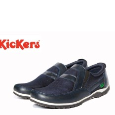 Sepatu Kulit Bandung - Sepatu Casual Pria Slip On Sneakers Kasual Keren Kuliah Slip On Santai Jalan Gaul Gaya Murah Hangout Suede Shoes Sepatu Wakai Style Fashion Cowok Pria