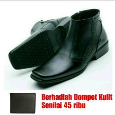 Sepatu Kulit Bot kickers pria Hand made indonesia 314