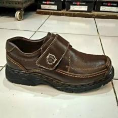 Sepatu Kulit Gats LXJ 2605 - Brown (414)