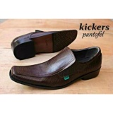 Review Terbaik Sepatu Kulit Kickers Pantopel Cosmo Darkbrown