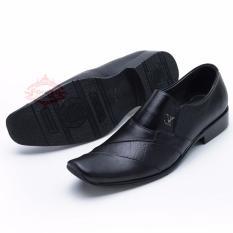 Sepatu Kulit Pantofel Kantor Kerja Bukan Kickers Bahan Kulit Asli 902HT