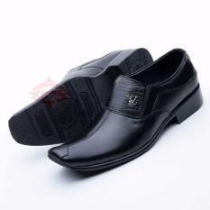 Review Sepatu Kulit Pantofel Pria Formal Slip On Model Terbaru 906Ht Terbaru