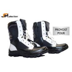 Harga Jaferi Sepatu Kulit Pdl Provost Polisi Warna Hitam Putih Pm Bahan Kulit Sapi Asli Kelas 1 Tersedia Big Size Seken