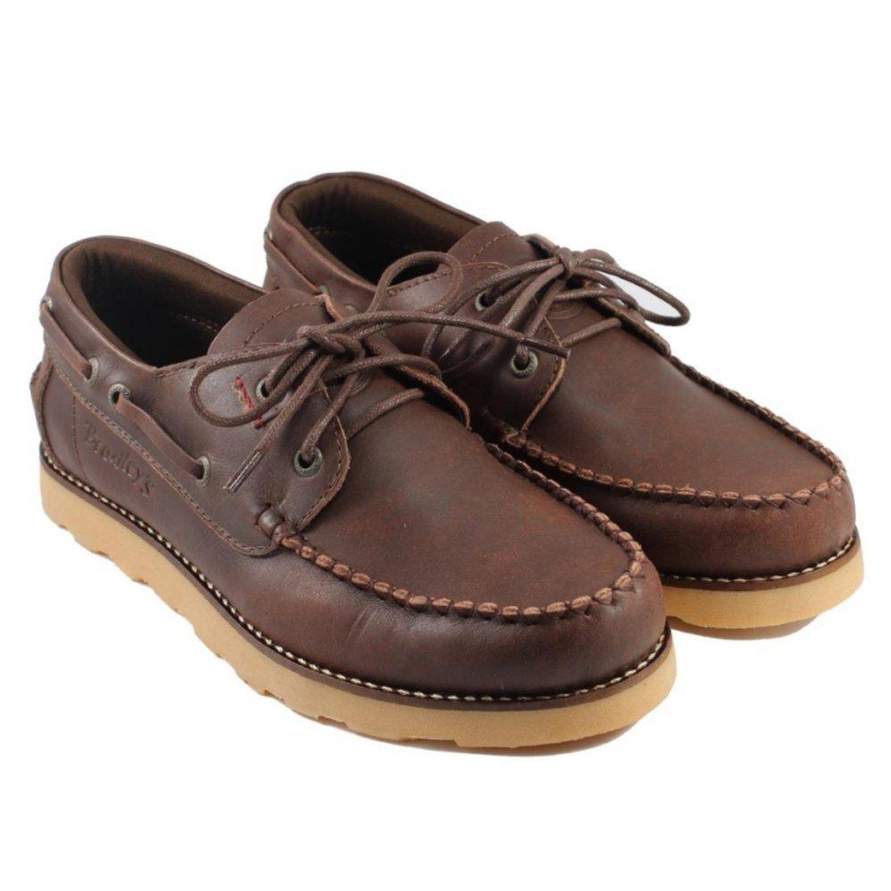 Sepatu Kulit Pria Bradleys zapato - Coklat - Sepatu Fomal Sekelas Brodo