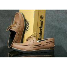 Jual Beli Sepatu Kulit Pria Casual Formal Zapato Dua Hole Tan Baru Banten