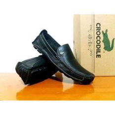 Review Sepatu Kulit Pria Crocodile Formal Santai