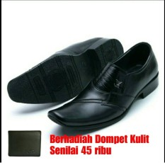 Sepatu Kulit Pria hand Made Indonesia 076 HT