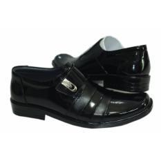 Jual Sepatu Kulit Pria Model Kretek M 38 Warna Hitam Merah Sepatu Pantofel Asli