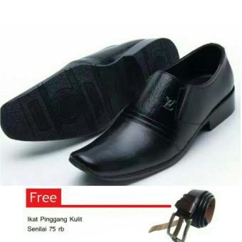 Beli Sepatu Kulit Pria Sepatu Kulit Asli Formal Hand Made Model Masa Kini Best Product Sepatu Kulit Pria 073 Ht Kredit South Sumatra