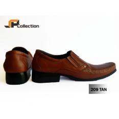 Rp 350.000. Sepatu Kulit Sapi Asli Model PDH 209 Tan Bahan Kulit Sapi Asli Merk  Spatoo Cocok Untuk Kerja dan Acara Formal ... 2ef2112eb2