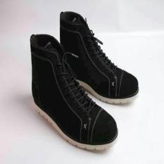 Sepatu Kulit Suede Boston Foggia (Bally- Delta- Brodo- Pedro- Kickers