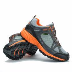 Harga Sepatu Lari Keta 190 Running Outdoor Olahraga Abu Orange Terbaru