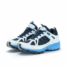 Jual Sepatu Lari Keta 190 Running Outdoor Olahraga Putih Biru Tua Satu Set