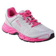 Sepatu league legas series evo la grey pink sepatu lari wanita league sepatu olahraga wanita league