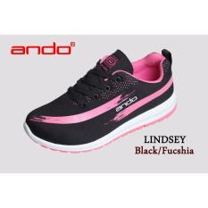 Beli Sepatu Lindsey Black Fuschia Seken