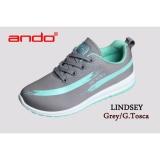 Spesifikasi Ando Sepatu Lindsey Grey G Tosca Dan Harganya