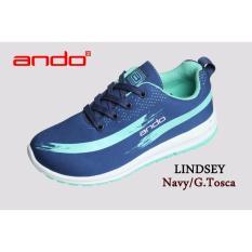 Harga Sepatu Lindsey Navy G Tosca Indonesia