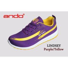 Toko Sepatu Lindsey Purple Yellow Ando Indonesia