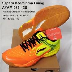 Sepatu Lining AYAM033-2S BADMINTON SHOES MURAH DISKON OBRAL SALE JUAL PERLENGKAPAN BULUTANGKIS ADHA SPORT