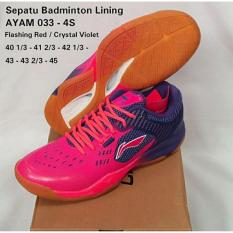 Sepatu Lining AYAM033-4S BADMINTON SHOES MURAH DISKON OBRAL SALE JUAL PERLENGKAPAN BULUTANGKIS ADHA SPORT