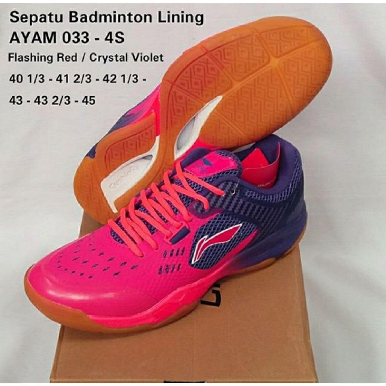 Harga preferensial Sepatu Lining AYAM033-4S BADMINTON SHOES MURAH DISKON  OBRAL SALE JUAL PERLENGKAPAN BULUTANGKIS b82961ba11