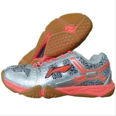 Toko Sepatu Lining Razor Aytl077 Original Silver Pink Badminton Shoes Adha Sport Lengkap Di Jawa Timur