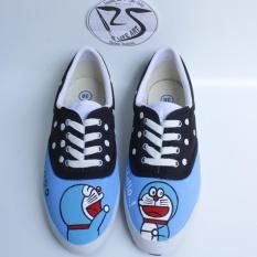 Harga Sepatu Lukis Doraemon Baru Murah