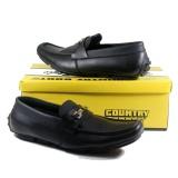 Beli Sepatu Mode Fomal Pria Kerja Kualitas Terbaik Country Boots Alexander Black Baru