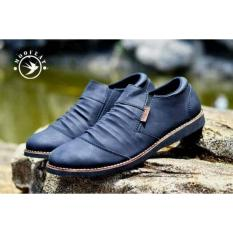 Sepatu Moofeat Low Boots Wrinkle Original Leather Terbaru
