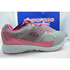 Sepatu New Era Princes Pink/abu-abu