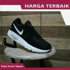 Sepatu Nike Airmax Zero Untuk Olahraga Lari Joging Running Pria Hitam - Rgbyij