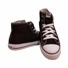 Beli Sepatu North Star High Cut Black White Lengkap