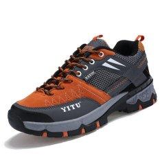 Beli Sepatu Olah Raga Pria Tahan Lama Sepatu Hiking Sepatu Panjat Tebing Sepatu Trekking Tahan Lama Pria Olahraga Sepatu Hiking Sepatu Mountain Climbing Shoes Trekking Sepatu Intl Cicil