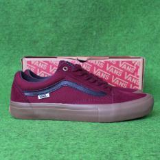 Sepatu Oldskool Pro Red Gumsole