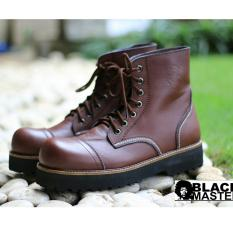 Sepatu Original Pria Boots Nyaman Terlaris - BLACKMASTER UNDERGROUND 01 - Brown