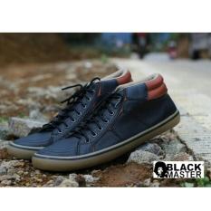 Sepatu Original Pria Casual Best Seller - BLACKMASTER GEOX - Black