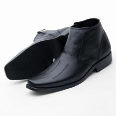 Sepatu Pantofel Boot Pria Handmade Kulit Asli Harga Murah  Boot03