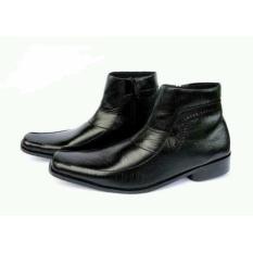 Perbandingan Harga Sepatu Pantofel Boots Pria Ritsleting Warna Hitam Bahan Kulit Asli Dz201 Sepatu Formal Pria Sepatu Kerja Pria Sepatu Kantor Sepatu Pantofel Di Jawa Barat