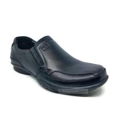 Sepatu Pantofel Kulit Asli Pria GATS - GI 7216 Black