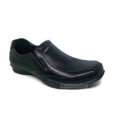 Sepatu Pantofel Kulit Pria GATS GI - 7211 BLACK Original