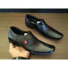 Jual Beli Sepatu Pantofel Leather Kickers Pria Black