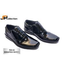 Harga Jaferi Sepatu Pantofel Pdh 02 Reseleting Sintetis Warna Hitam Bahan Sintetis Cocok Untuk Pergi Ke Pesta Dan Acara Formal Maupun Non Formal Murah
