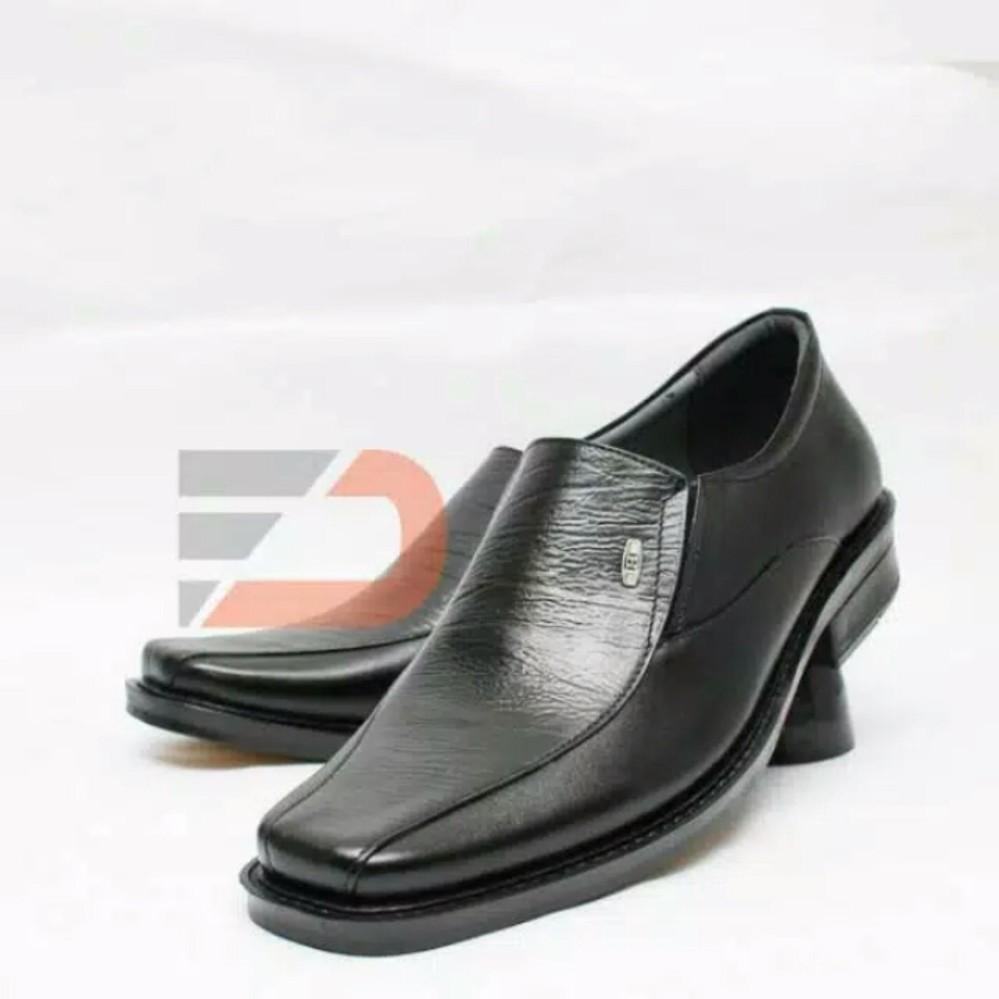 Sepatu Pantofel pria Kulit Sapi Asli Formal kerja kantor kuliah resmi sekolah