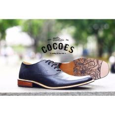 Pusat Jual Beli Sepatu Pantofel Pria Cocoes Footwear Marker Black Series Sepatu Formal Sepatu Kulit Jawa Barat
