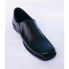 Rasheda Sepatu Pantofel Pria Formal Kulit Asli K 02 Big Size Di Jawa Barat