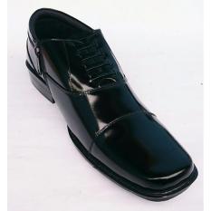 Spesifikasi Rasheda Sepatu Pantofel Pria Formal Kulit Asli K07 Big Size Terbaik