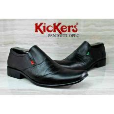 Sepatu Pantofel Pria Kickers Kulit Asli Murah Formal ( Jual Boots Sneakers Formal Casual)