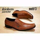 Harga Kickers Sepatu Pantofel Pria Kickers Semi Lancip Bahan Kulit Sapi Asli Merk Kickers